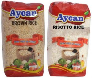 Aycan Risotto Rice and Aycan Brown Rice