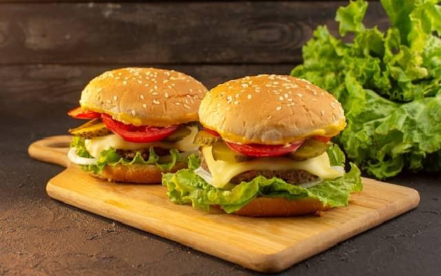 Battered Veg Burger