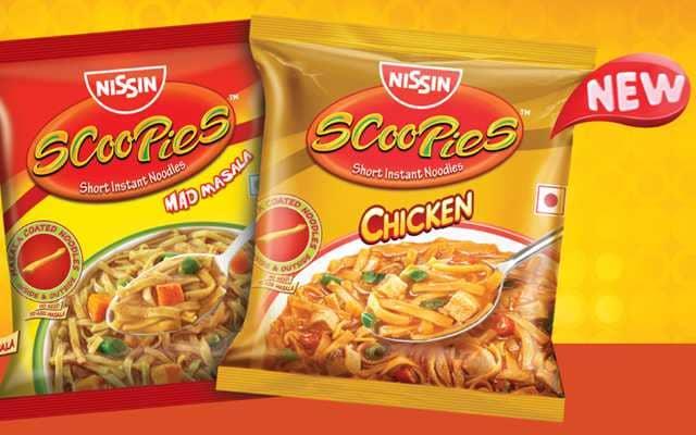Nissin Scoopies Noodles