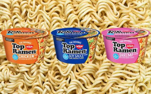 Top Ramen Instant Noodles