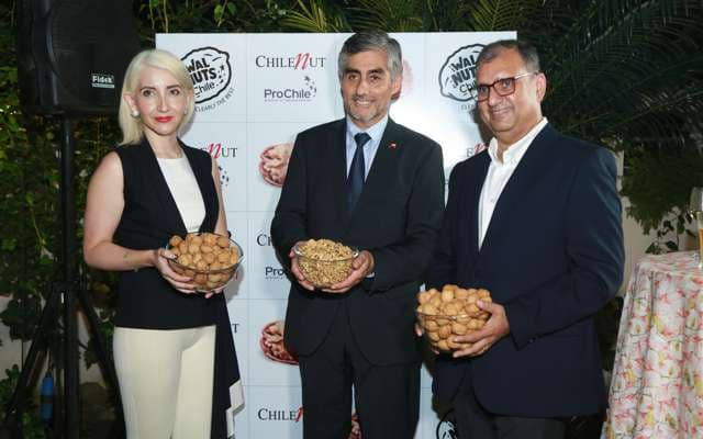 Walnuts from Chile Launched in India, ahead of festive season